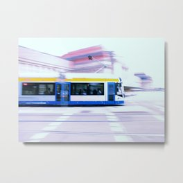 Straßenbahn Leipzig Metal Print