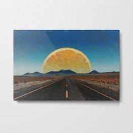 Lemonade Road Metal Print