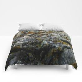 Coastal Rock Microcosms Comforters