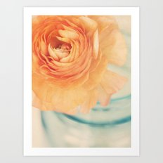 Orange crush Art Print