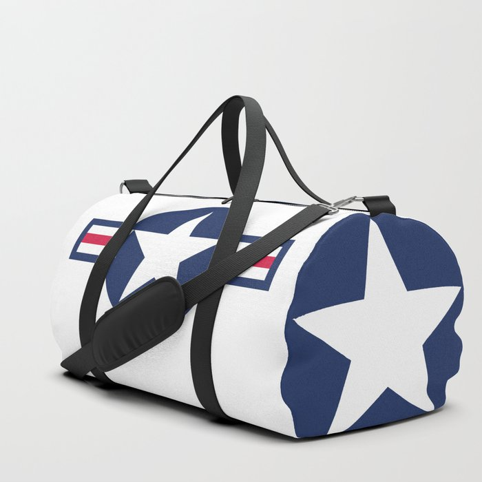 US Air-force plane roundel HQ image Duffle Bag
