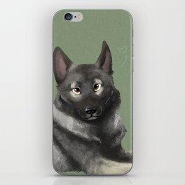 Norwegian Elkhound iPhone Skin