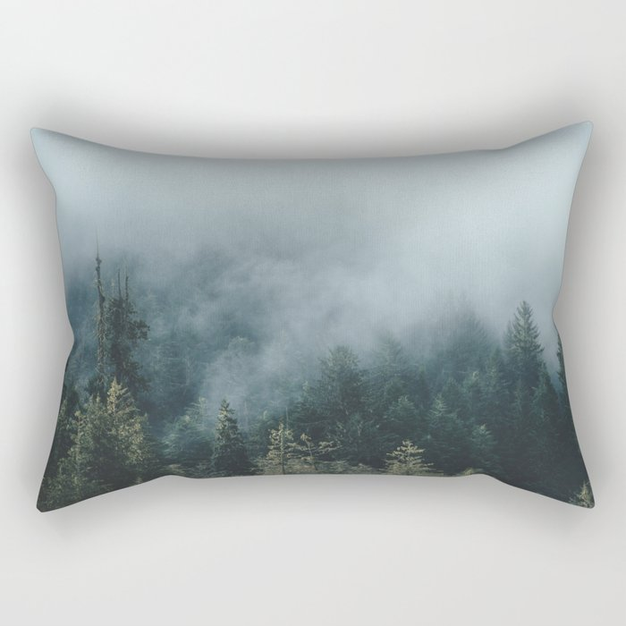 The Smell of Earth - Nature Photography Rectangular Pillow