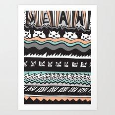 MEAW Art Print