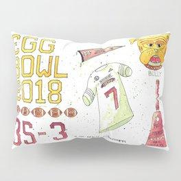 2018 Egg Bowl Pillow Sham