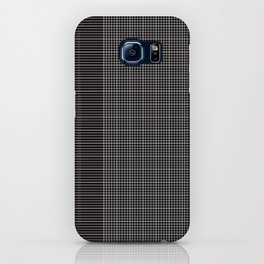 Back to School- Simple Grid Pattern - Black & White - Mix & Match with Simplicity of Life iPhone Case