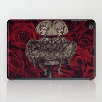 gothic iPad Cases featuring Gothic Twins by AKIKO