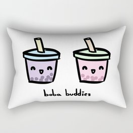 Boba Buddies Rectangular Pillow