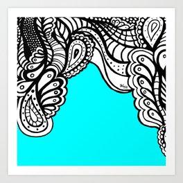Sky Doodle Art Print