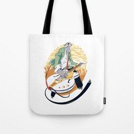 GRETSCH - White Falcon Tote Bag