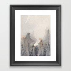November morning 6 Framed Art Print