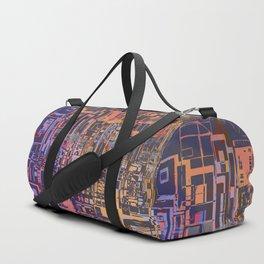 Where Are YOU -3 / Urban Density Duffle Bag