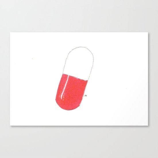 a pill Canvas Print