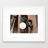 green lantern Framed Art Prints featuring Green Lantern by Brooke Copani