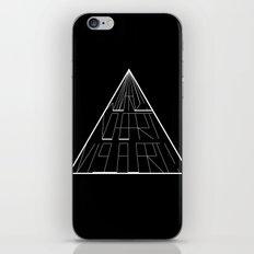 Wizard No Heart Logo iPhone & iPod Skin