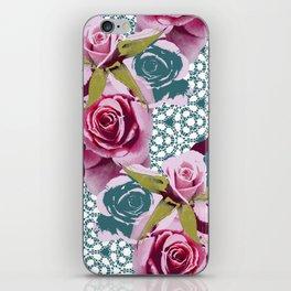 Modern Baroque Rose iPhone Skin