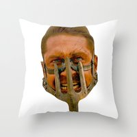 mad max Throw Pillows featuring Mad Max by Sten