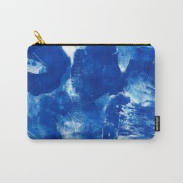 Bold Cerulean Carry-All Pouch
