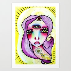 Grape Soda Art Print