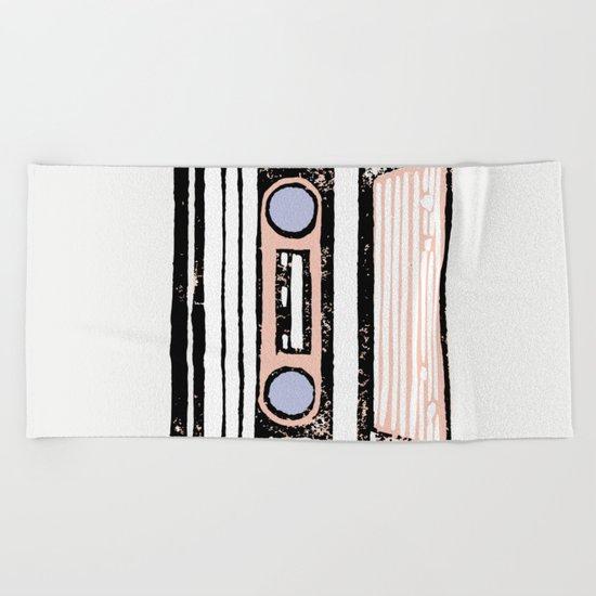 Cassette Beach Towel