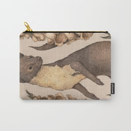 The Marten and Foxglove Carry-All Pouch