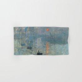Claude Monet – Impression soleil levant – impression sunrise Hand & Bath Towel