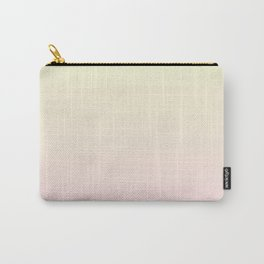 Color gradient 3. Pink and yellow.abstraction,abstract,minimalism,plain,ombré Carry-All Pouch