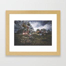 Abandoned Amusement Framed Art Print
