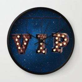 VIP - Very Important Person -  Wall-Art for Hotel-Rooms Wall Clock