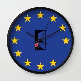 Brexit Flag Wall Clock