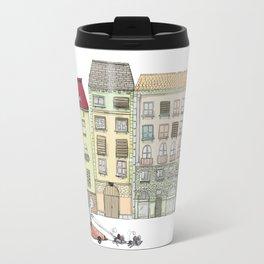Budapest and the wandering cat Travel Mug