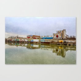 The Beauty of Urban Decay Canvas Print