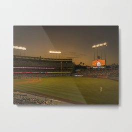 Let's go watch some baseball Metal Print