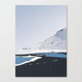Vik Reynisfjara Black Sand Beach, Iceland Canvas Print