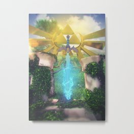 Rise of The Master Metal Print