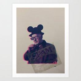 Mind the Business Print by Barrie J Davies 2020 Art Print