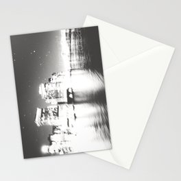 The Night Freezes Lonely Stationery Cards
