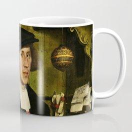 Hans Holbein  - Portrait of Georg Giese Coffee Mug