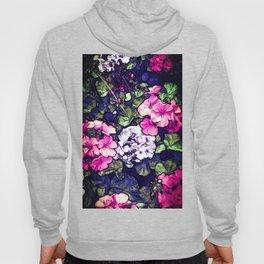 Pink Geraniums, Goddess Energy Hoody