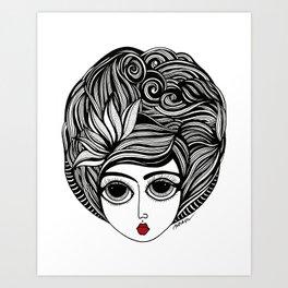 KIANA Art Print