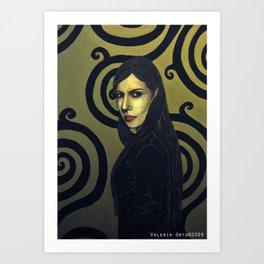 Silvia Art Print