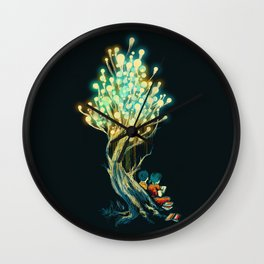 ElectriciTree Wall Clock
