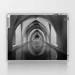 Black and white light and shadow VI Laptop & iPad Skin