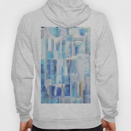 Abstract blue pattern 2 Hoody