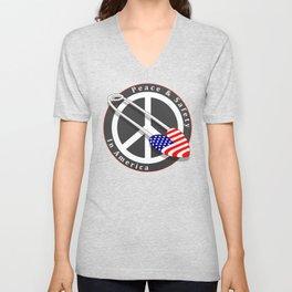 Safety in America Unisex V-Neck