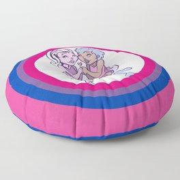 Love is Love - Bi Floor Pillow