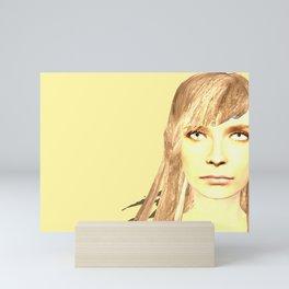Jumper second side Mini Art Print