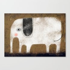 WHITE ELEPHANT Canvas Print