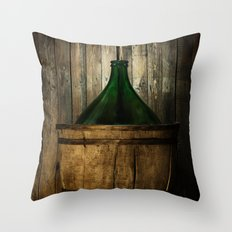 Damigiana Throw Pillow