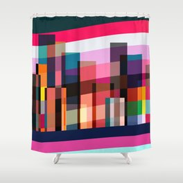 Dancing New York Shower Curtain